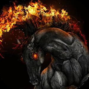 Mad horse live wallpaper apk