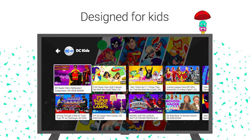 YouTube Kids for Android TV for PC