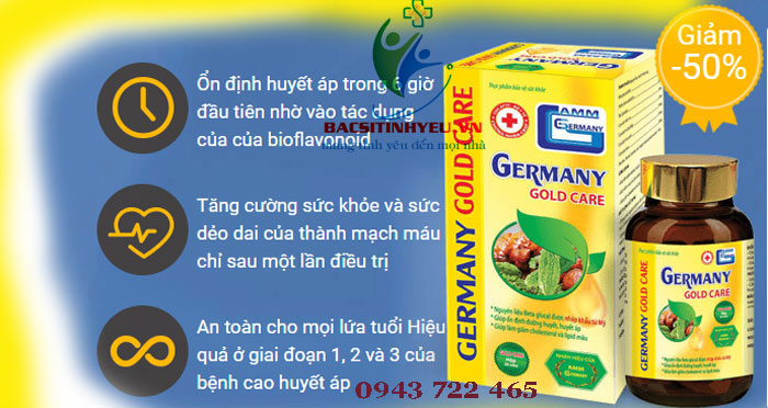 công dụng germany gold care