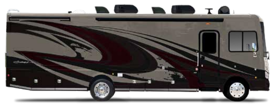 The Fleetwood Southwind 37F Class A is a 38 foot family-friendly RV.