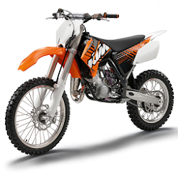 KTM Dirt Bikes Wallpaper