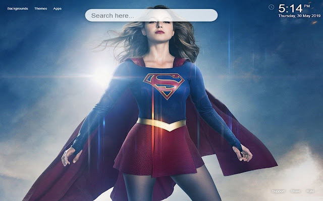 Supergirl DC Comics Wallpapers&Themes