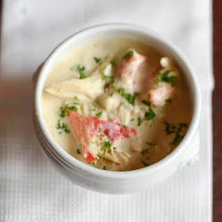 Restaurant Style Crab Bisque.