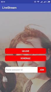 Live Stream - náhled