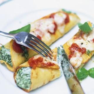 Vegetarian Pancake Fillings Recipes