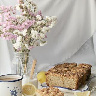 Vanilla Bean Lemon Almond Cake