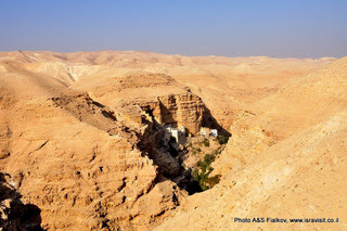 Экскурсия в монастыри Иудейской пустыни. Монастырь Георгия Хозевита. Гид в Израиле Светлана Фиалкова.