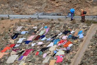Photo: Moroccan clothes drier