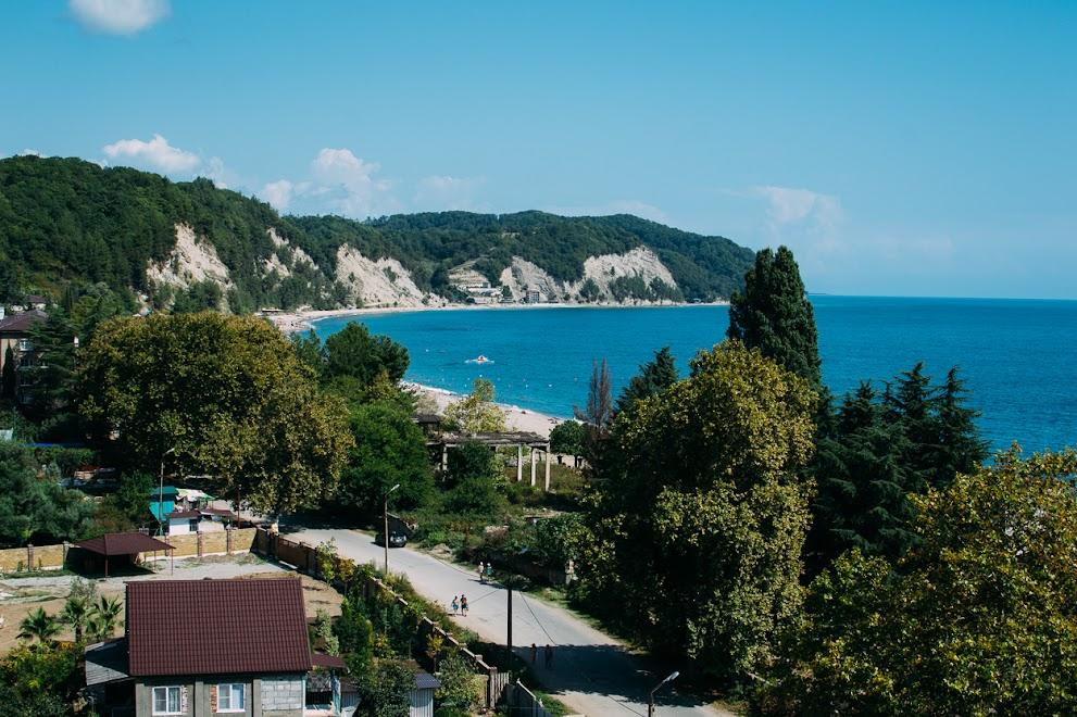 Монашеское ущелье, Абхазия
