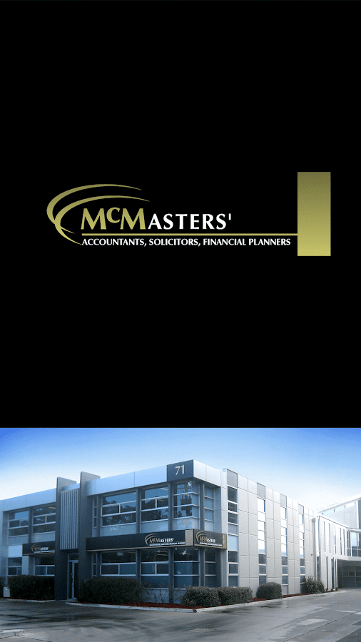 McMasters Accountants- screenshot
