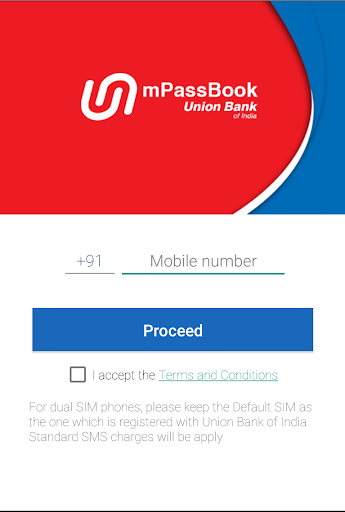 Union Bank of India m Passbook