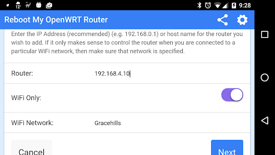 Download Reboot My OpenWRT Router For PC Windows and Mac apk screenshot 11