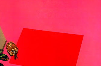 Photo: Gilles au tapis rouge, 1977.