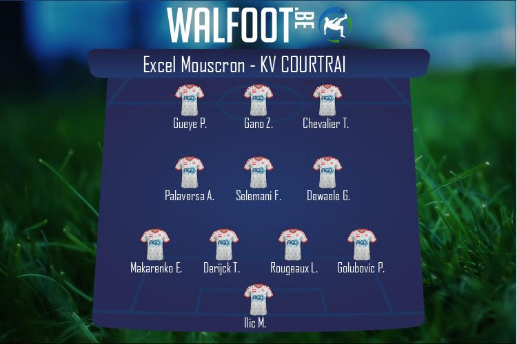 KV Courtrai (Excel Mouscron - KV Courtrai)
