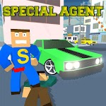 Car Craft Blocky City Racer Icon