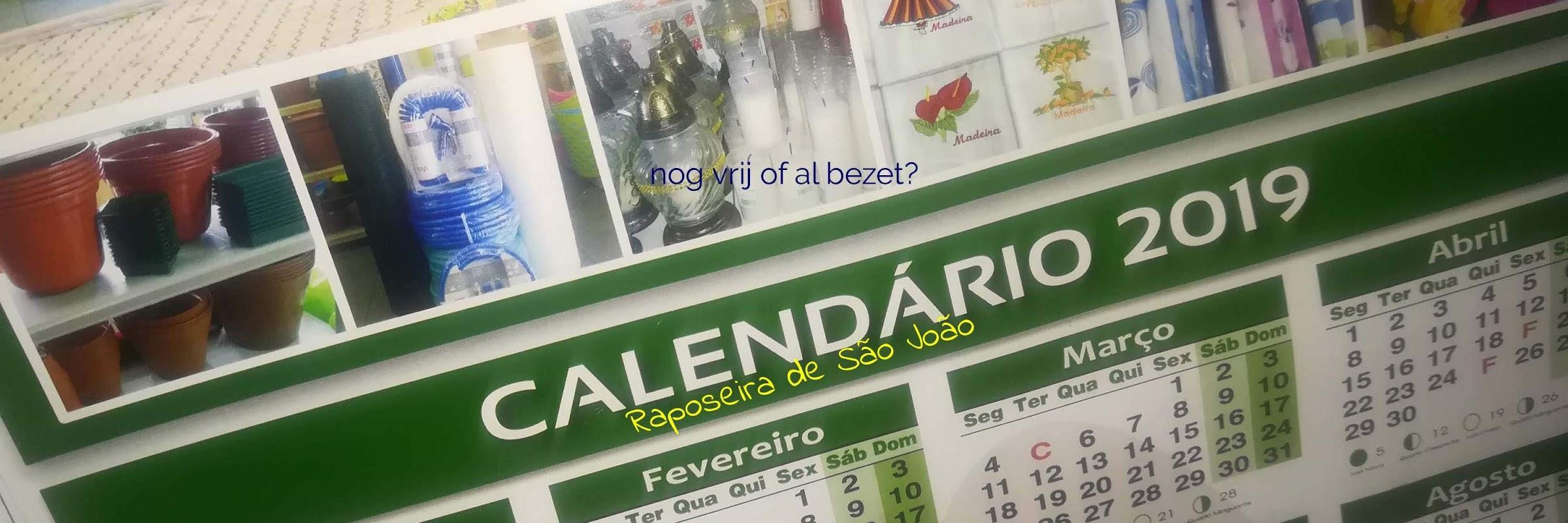 Als de prijzen voor ons vakantiehuis op Madeira je bevallen, kijk dan op de kalende of het huis vrij is als je wilt boeken!