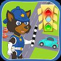 Puppy Patrol: Car Traffic icon
