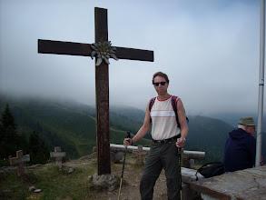 Photo: Kriegerkreuze im Nebel
