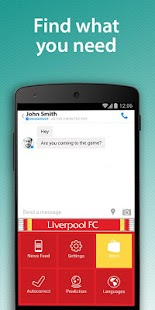 Liverpool FC Official Keyboard- screenshot thumbnail