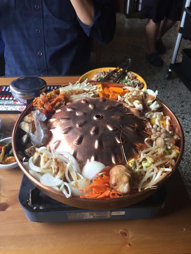 偏台式的韓國料理