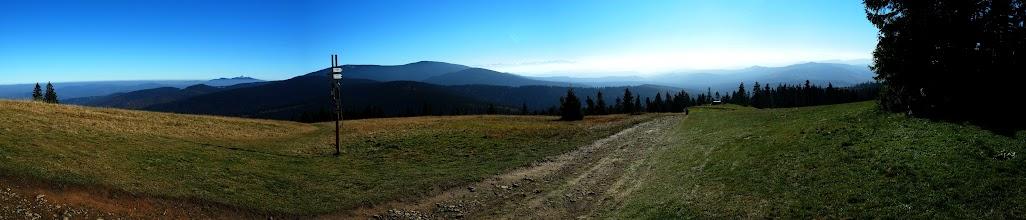 Photo: Hala Rysianka i widok na to co najpiękniejsze - wysokie szczyty.