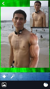 Gym Body Photo Editor - Six Pack Camera Stickers - náhled