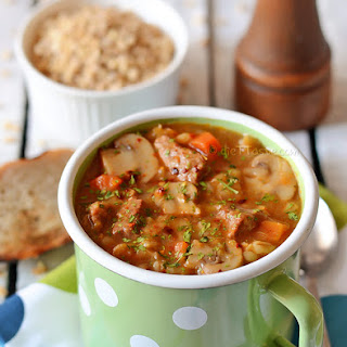 Beef Barley Soup With Beef Shanks Recipes