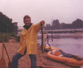Photo: 1979: Hecht, 63 cm, aus der Ems bei Hanekenfähr