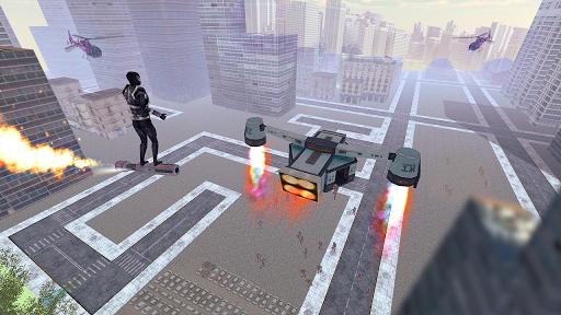 Superhero Fly Simulator apkpoly screenshots 1