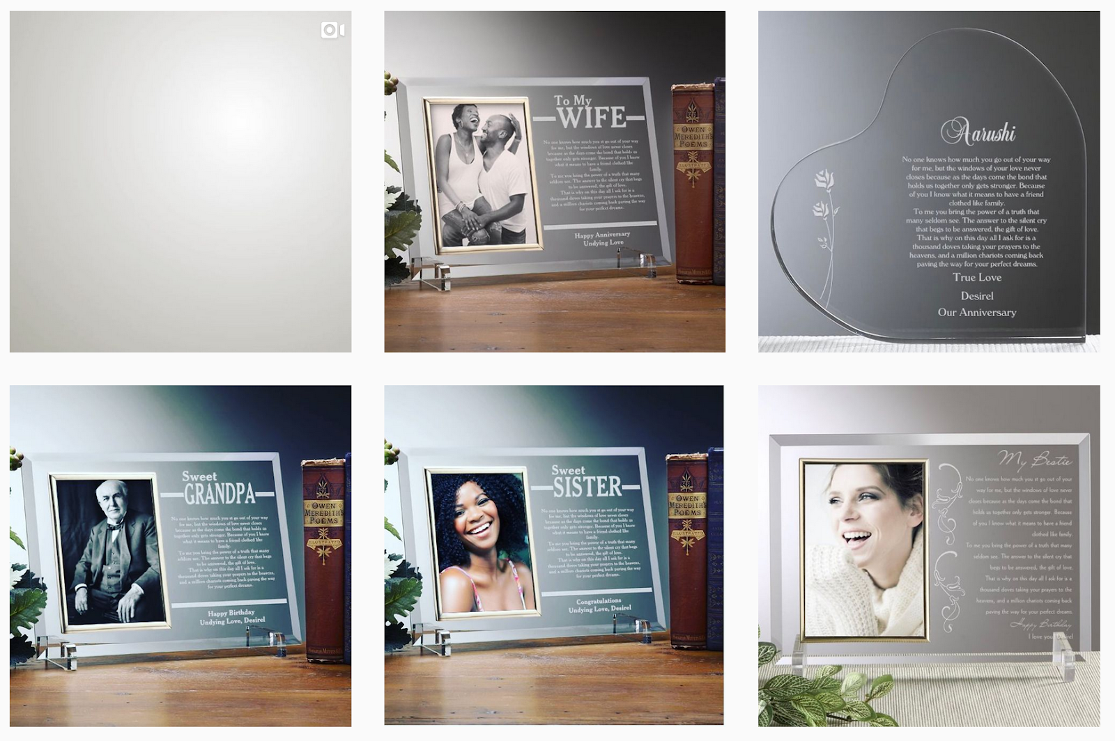 Desirel Expression | Personalized Glass Displays