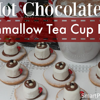 Hot Chocolate Tea Cup Biscuits