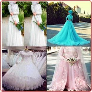 Muslim Hijab Wedding Dress - náhled