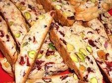 Craisin Pistachio Biscotti Recipe
