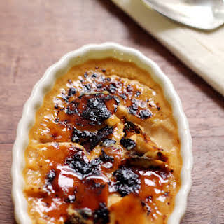 Caramelized Honey Creme Brulee.