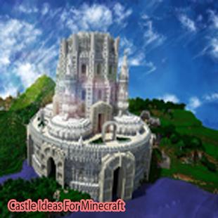 Castle Minecraft Ideas - náhled
