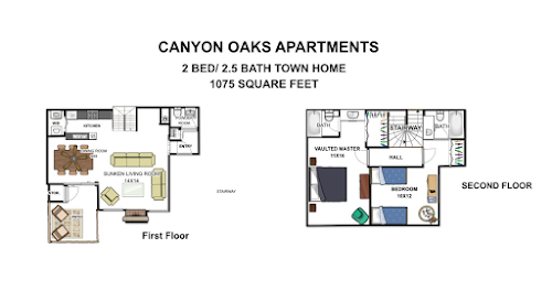 2 Bed, 3 Bath | Canyon Oaks Apartments San Antonio, TX