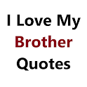 I Love My Brother Quotes icon