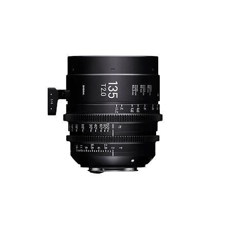 Sigma Cine 135mm T2 FF (Metric)