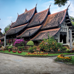 Wat Lokmolee (วัดโลกโมฬี) by Phil Hanna - Buildings & Architecture Places of Worship ( temple, thailand, chang mai, wat lokmolee )