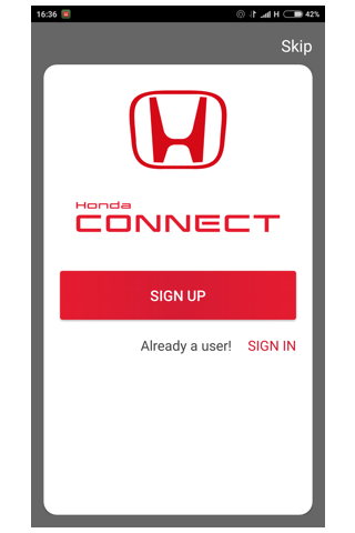 Honda Connect 2.0.4 screenshots 1