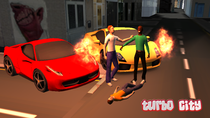 Скриншот Turbo City 3D Car Smash