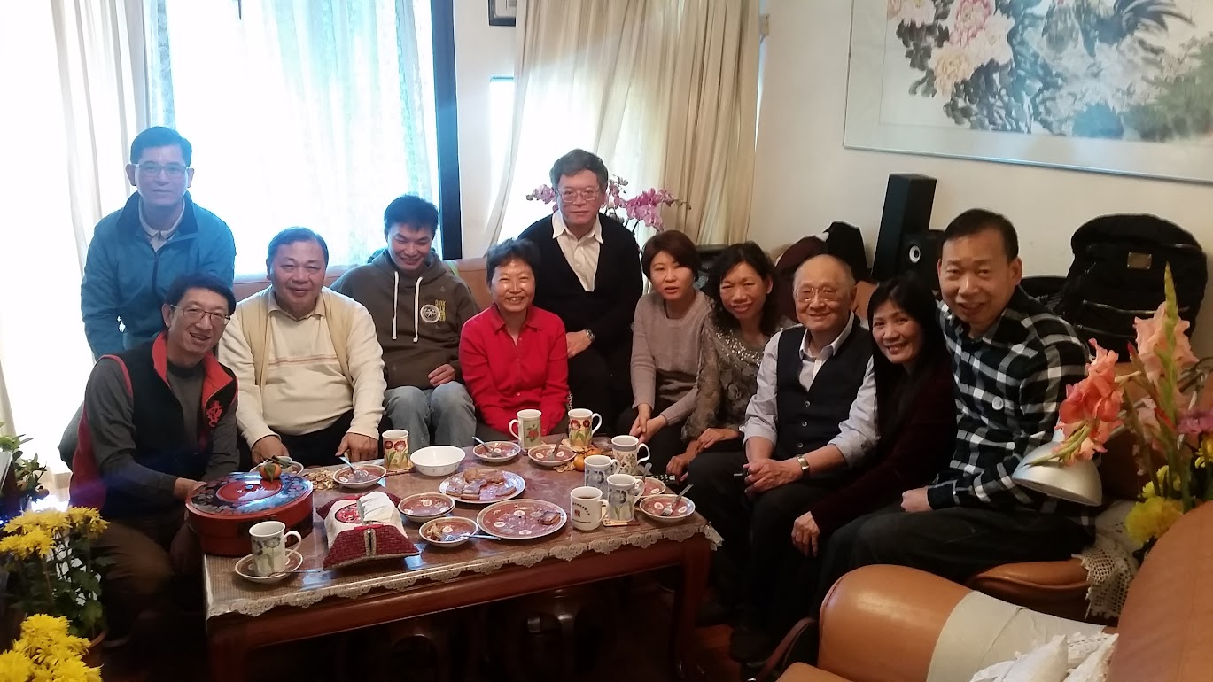 CNY gathering with Prof. Lee