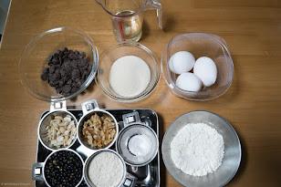 黒千石レシピ:黒千石ドンのチョコブラウニー・材料