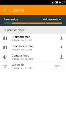 Contour lines plugin — OsmAndのおすすめ画像2