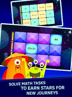 Space Math Matching Games. Math qiuz - náhled
