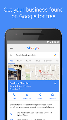 Google My Business  screenshots 1