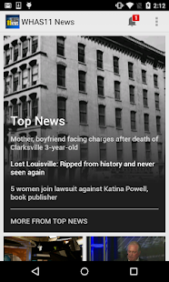 WHAS11 Louisville News- screenshot thumbnail