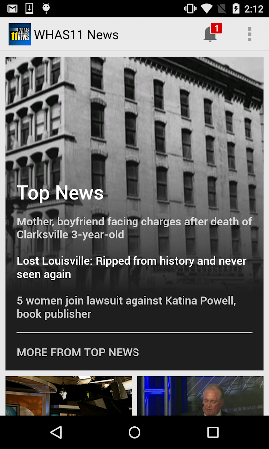 WHAS11 Louisville News- screenshot