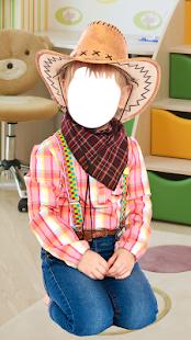 Kids Costume Photo Montage - náhled