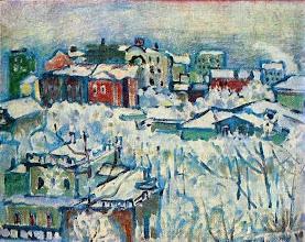 "Photo: Vasilij Kandinsky, ""Mosca, Boulevard Smolensk"" (1916)"